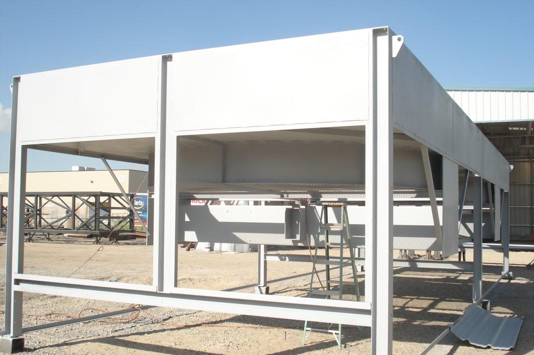 Steel HVAC Structure