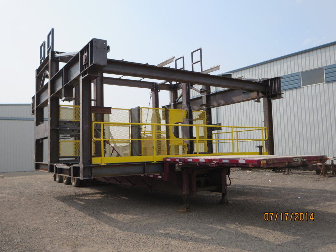 Steel Work for Oil and Gas Industry